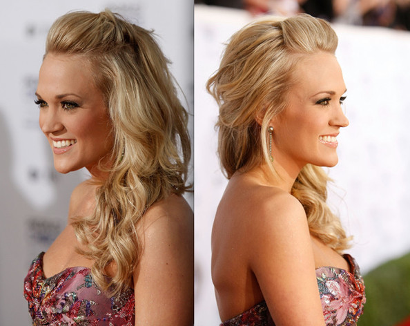 Carrie Underwood Prom Hairstyle Ideas 2009 5 Great Prom Hairstyles