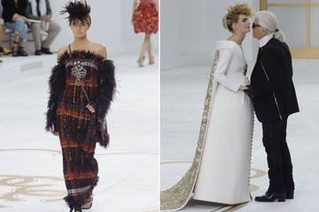 Chanel Couture's Runway Stars, J.Lo's Fashion Week Appearance, Vivienne Westwood Designs Flight Attendant Uniforms and More