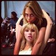 Cara and Suki Have a Moment