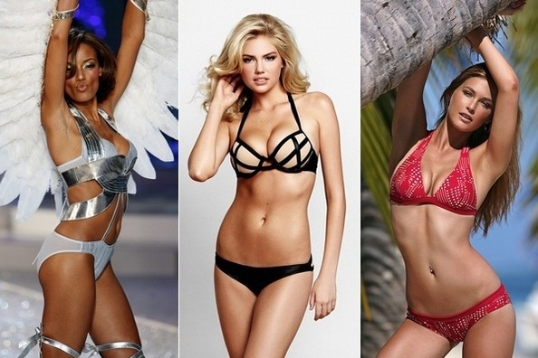 illustrated bikini models