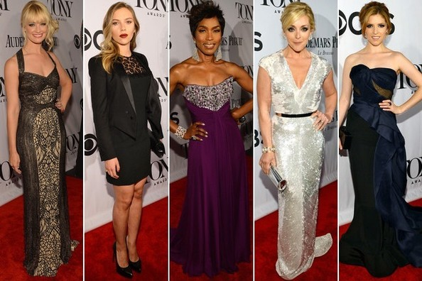 Best Dressed at the 2013 Tony Awards