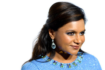 Mindy Kaling's Vibrant Red Carpet Style
