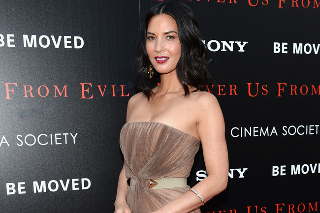 Olivia Munn's Red Carpet Look