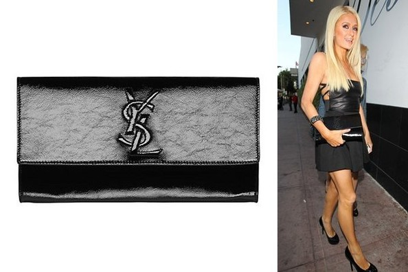 Belle du Jour: Paris Hilton Carries YSL