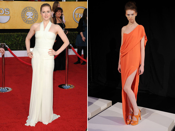 Amy Adams Oscars Dress Prediction