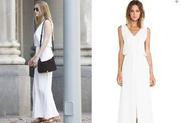 Found: Amber Heard's White Maxi