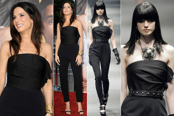 Runway to Reality: Sandra Bullock in Lanvin