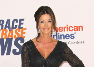 Janice Dickinson Loses False Teeth at Star-Studded Restaurant