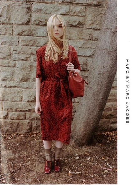 Elle Fanning Stars in Marc by Marc Jacobs' Fall Campaign