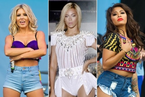 The Best Stage Hair & Makeup at the V Festival