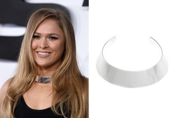 Found: Ronda Rousey's Collar Necklace