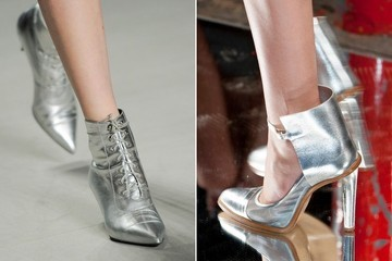 Five Ways to Wear Metallic Shoes