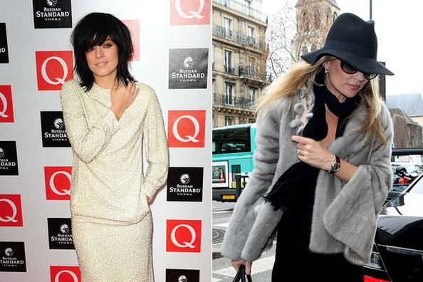 Kate Moss Not Invited to Lily Allen's Wedding