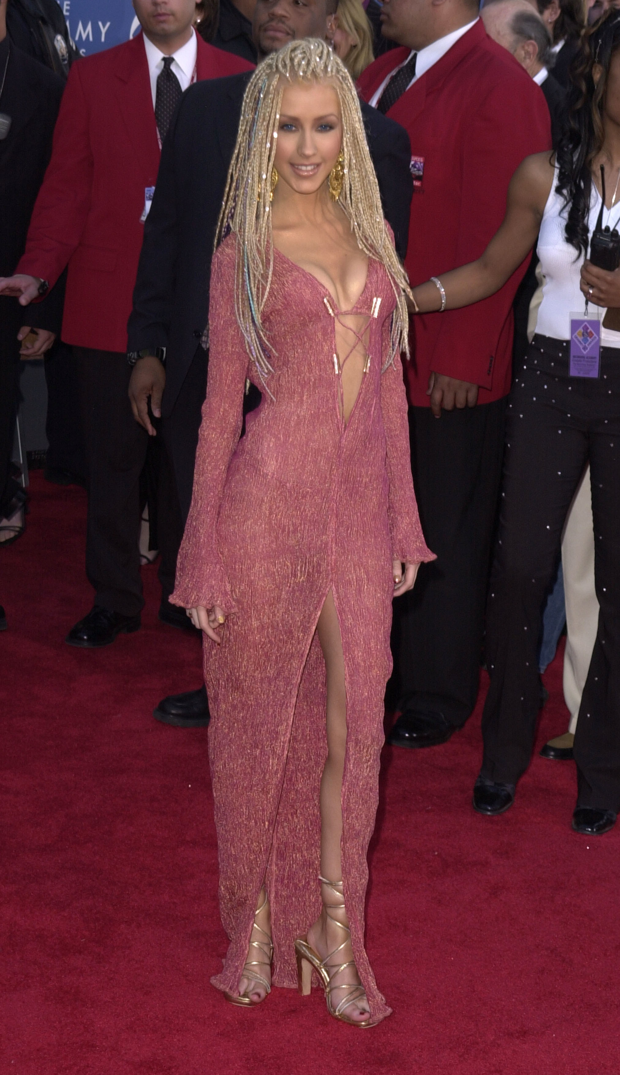Christina Aguilera 2001 The Most Outrageous Grammy