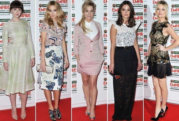 Best & Worst Dressed at the 2013 Jameson Empire Awards in London