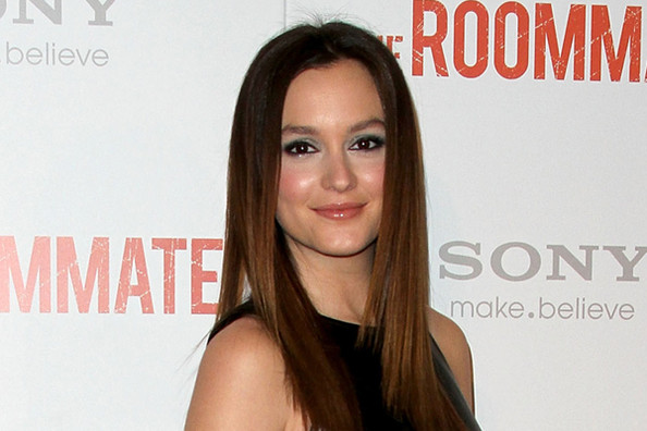 Leighton Meester Loves Drugstore Makeup
