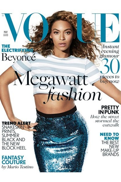 Beyonce's Leaked British 'Vogue' Cover, In All of Its Glory
