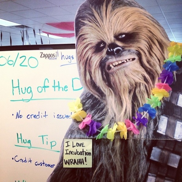Behind the Scenes at Zappos.com Headquarters: Wookies, Free Snacks, Zombies, and More!
