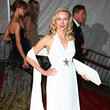 Naomi Watts In Theirry Mulger At The Met Gala