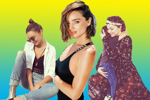 Miranda Kerr's Best Instagram Moments, Hands Down