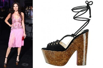 Eliza Doolittle Gets Laced up in Louboutin