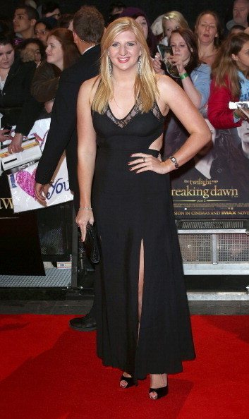 Rebecca Adlington at the 'Twilight Saga: Breaking Dawn - Part 2' London Premiere