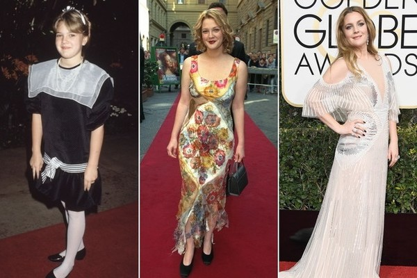 The Style Evolution Of Drew Barrymore