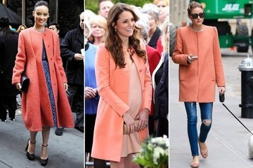 Trend to Try: Coral Coats