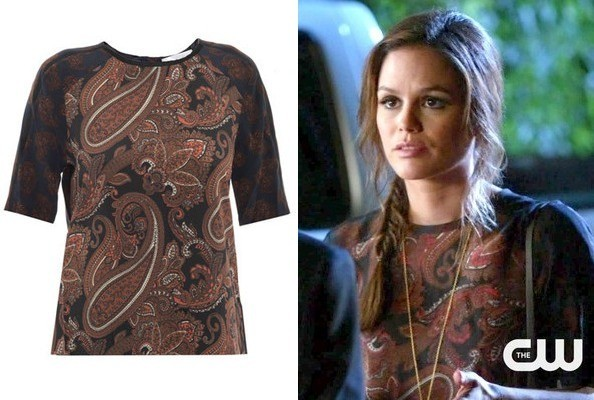 Rachel Bilson's Paisley Top on 'Hart of Dixie'