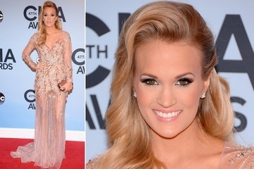 Weekend-Ready Hair: Carrie Underwood's High Drama Side Sweep