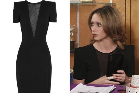 Jennifer Love Hewitt's 'Peek-a-Boob' Little Black Dress on 'The Client List'