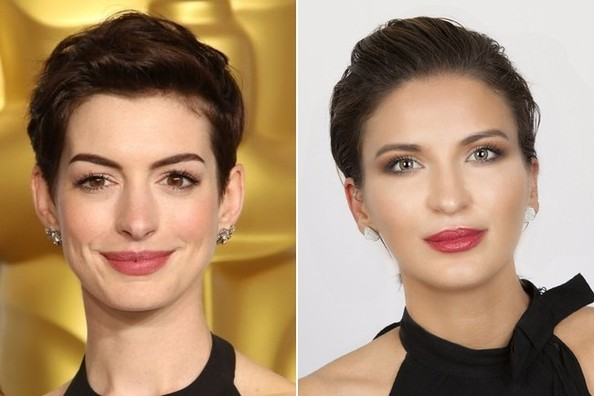 Get The Red Carpet Hair Look: Anne Hathaway