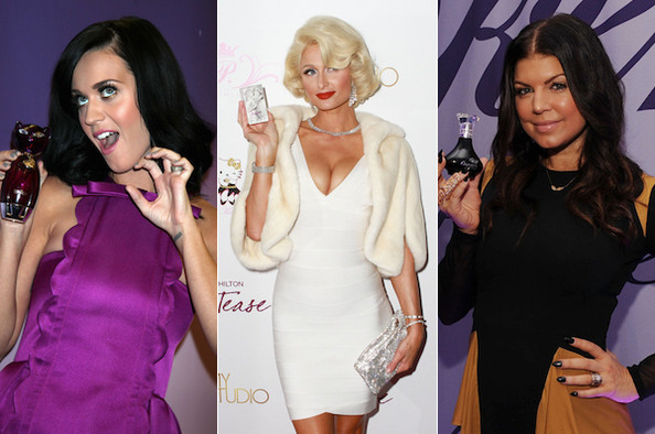 Scentsational Hollywood - The Celebrity Fragrances of 2010