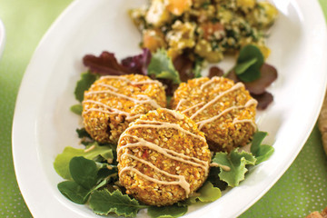 Recipe to Try: Raw Carrot Falafel