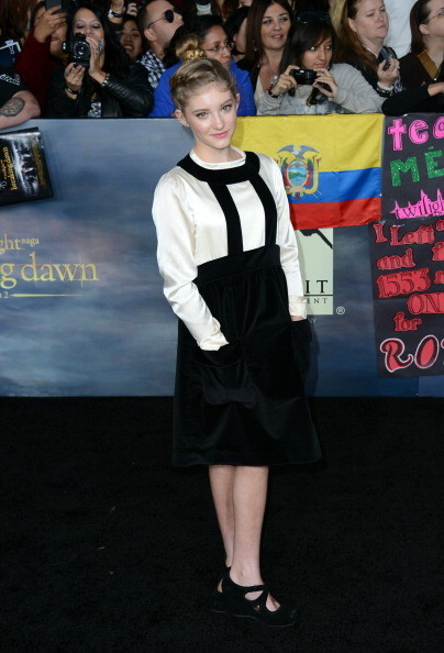 "Willow Shields at 'The Twilight Saga: Breaking Dawn - Part 2"" Premiere"