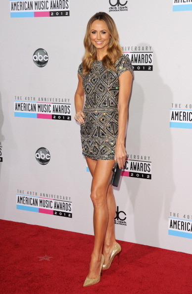 Stacy Keibler at the 2012 AMAs