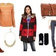 A Laid Back Layered Look Inspired By Zooey Deschanel on 'New Girl'