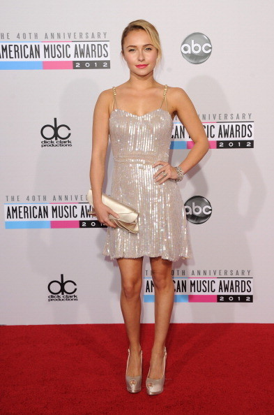 Hayden Panettiere at the 2012 AMAs