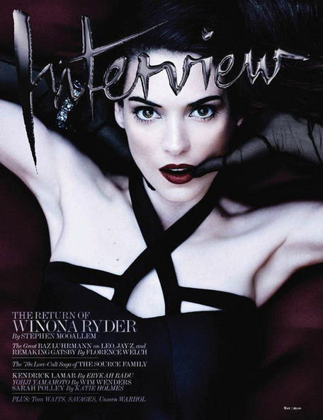 Winona Ryder Covers 'Interview,' The NRA's Holster Bra, and More!