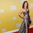 Kimberly Williams-Paisley in Solid Gold