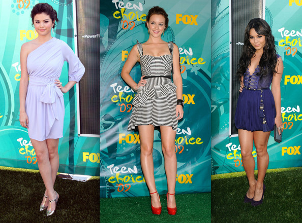 Best Dressed at the Teen Choice Awards 2009