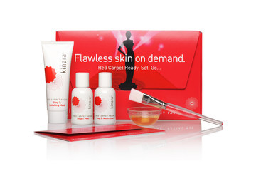 Current Obsession: Kinara's Red Carpet Facial Kit