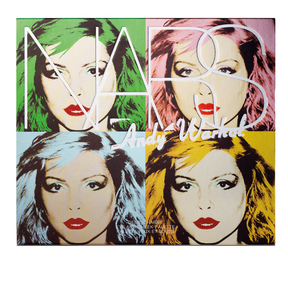 Debbie Harry Eye & Cheek Palette Packaging