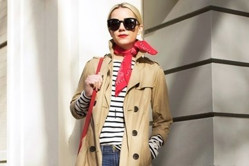 Look of the Day: Blair Eadie's Spring Trench