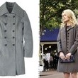 Rachael Taylor's Gray Coat on '666 Park Avenue'