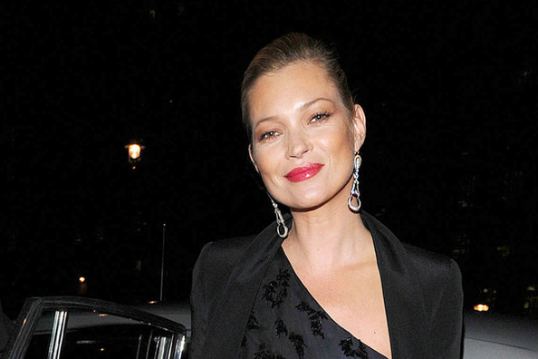 Kate Moss Is Designing Her Own Wedding Dress
