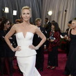 Charlize Theron in Christian Dior at the Oscars