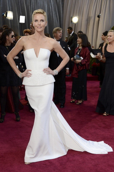 Charlize Theron In Dior Haute Couture, 2013