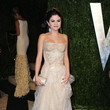 Selena Gomez Wore Versace at the Vanity Fair Oscars Party 2013