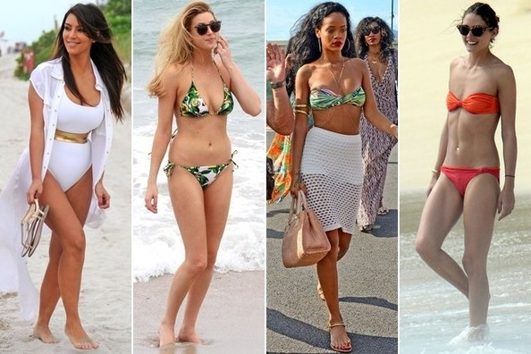The Cutest Celebrity Swimsuits Ever